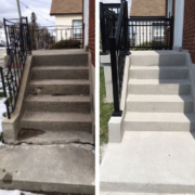 Project Gallery Before After Toronto Concrete